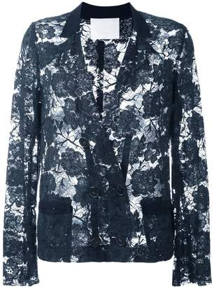 Lanvin Pre-Owned lace jacket