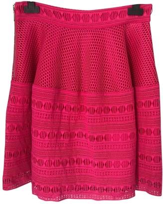 Pinko Pink Cotton Skirt for Women