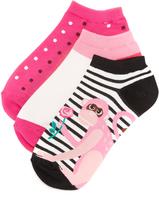 Kate Spade Stripe Monkey Sock Set