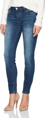 "Kensie Jeans Women's 28"" Inseam Skinny Jean Ankle Biter"