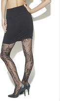 Wet Seal Dotted Floral Open Net Tights