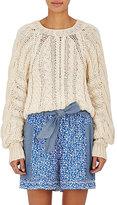Ulla Johnson Women's Niva Cotton Crop Sweater