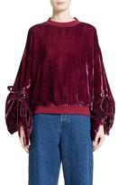 Y/Project Women's Velvet Sweatshirt