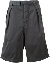 Sacai belted cargo shorts - men - Cotton - 2
