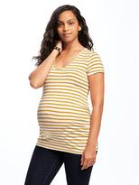 Old Navy Maternity Shirred V-Neck Tee