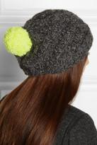 Eugenia Kim Sasha cable-knit alpaca beanie