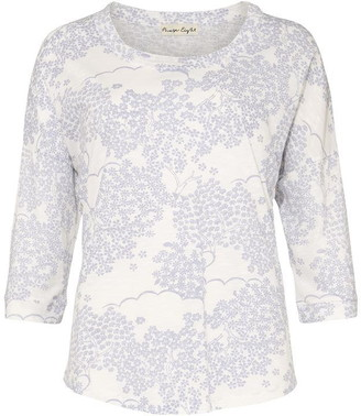 Phase Eight Belle Stitch Pagoda Print Top
