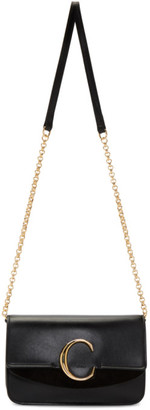 Chloé Black C Chain Clutch Bag