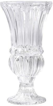 Serene Spaces Living Fancy Large Pedestal Glass Vase