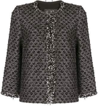 Andrew Gn sequin-trimmed tweed jacket