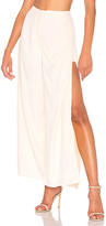 J.o.a. Layered Wide Leg Pants in Ivory. - size L (also in M,S,XS)