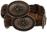 "Ariat Western Belt Womens Conchos Stone Leather 3/4"" M A1516002"
