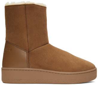Rag & Bone Brown Shearling Oslo Boots