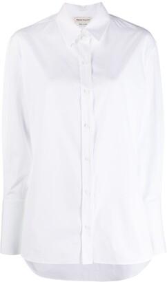 Alexander McQueen Longsleeved Cotton Shirt