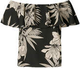 Polo Ralph Lauren floral off-the-shoulder blouse