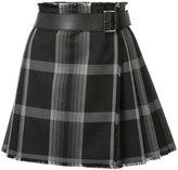 Alexander McQueen short tartan kilt - women - Silk/Cupro/Virgin Wool - 40