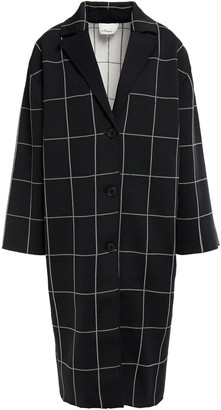3.1 Phillip Lim Checked Jacquard-knit Coat