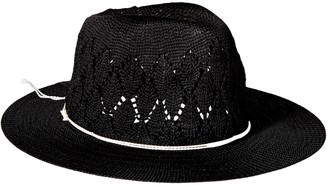 Physician Endorsed Women's Frankie Knit Fedora Sun Hat w/Silver Charm Rated UPF 50+ for Max Sun Protection