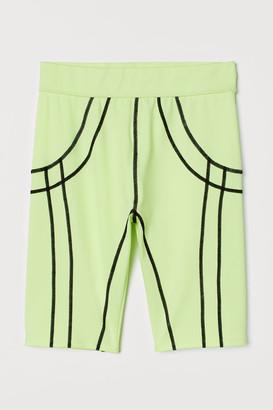 H&M Cycling Shorts - Yellow