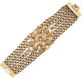 Diane von Furstenberg Woven Multi Chain Bracelet