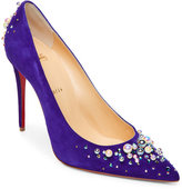 Christian Louboutin Candidate Embellished Pointed Toe Pumps