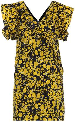 Victoria Victoria Beckham Floral cotton poplin minidress