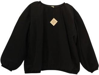 Base Range Black Silk Knitwear for Women