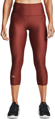 Under Armour Women's HeatGear High-Waisted Capri Leggings