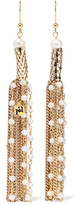 Rosantica Diluvio gold-tone pearl earrings