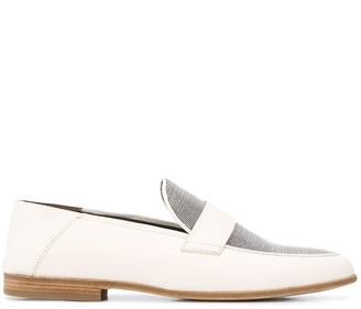 Brunello Cucinelli beaded loafers
