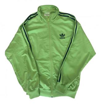 adidas Green Synthetic Jackets