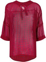 Semi-Couture Semicouture vichy shirt