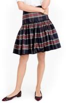 J.Crew Women's Stewart Plaid Taffeta Skirt