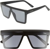 Thumbnail for your product : Quay Hindsight 67mm Shield Sunglasses