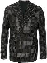Haider Ackermann polka dot suit jacket