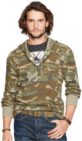Denim & Supply Ralph Lauren Men's Waffle-Knit Hooded Henley