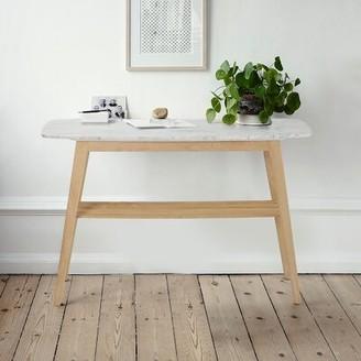"""Wrought Studioâ""""¢ Manpreet 43"""" Console Table Wrought Studioa Table Base Color: Oak"""