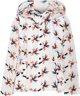 Tanya Taylor Lee printed cotton-blend shell hooded jacket