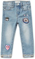 Jessica Simpson Little Girls 2T-6X Patch Skinny Denim Jeans