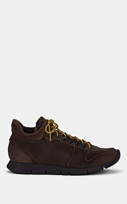 Buttero Men's Suede Sneakers - Dk. brown