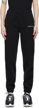 Helmut Lang Black Logo Lounge Pants