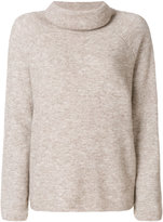 Mes Demoiselles roll-neck boxy sweater