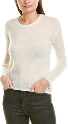 James Perse Gauze Cashmere & Silk-Blend Sweater