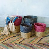 Graham and Green Seagrass Baskets