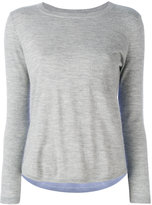Chinti and Parker cashmere colour-block top - women - Cashmere - XS