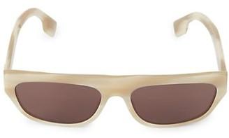 Burberry 57MM Rectangular Sunglasses