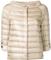 Herno wide neck bomber jacket - women - Cotton/Polyamide/Acetate/Goose Down - 42