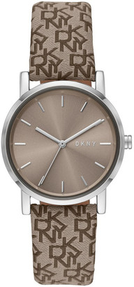 DKNY Soho Brown Analogue