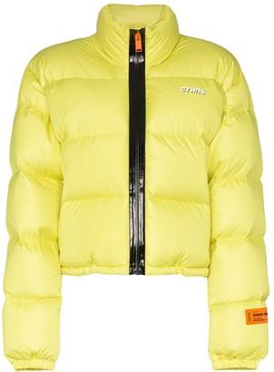 Heron Preston Cropped Puffer Jacket