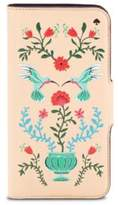 Kate Spade IPhone Cases Hummingbird Leather iPhone 7 Folio
